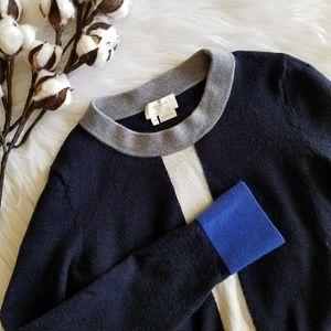 Kate Spade Navy Wool Sweater